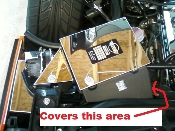 Corvette C4 1990-1991 ZR1 LT5 ECM SIDE BRACKET COVER