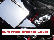 Corvette C4 1990-1993 Polished ECM BRACKET COVER