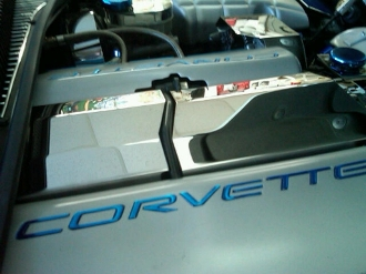 Corvette C5 1997-2004 Polished 2 Pc INTAKE MANIFOLD COVER