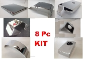 Corvette C5 1997-2003 8 Piece LARGE ENGINE COVER KIT