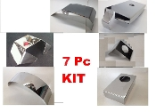 Corvette C5 2004 7 Piece LARGE ENGINE COVER KIT