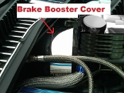 Corvette C5 1997-2004 POWER BRAKE BOOSTER COVER