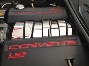 Corvette C6 2008-2013 Polished 7 Pc INTAKE PLENUM COVER KIT