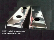 Corvette C4 1985-1991 Valve Cover COVERS Overlays