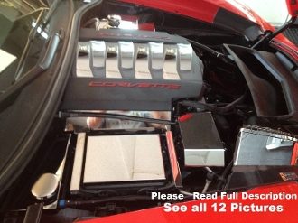 Corvette C7 2014-Present 23 Pc ENGINE COVER KIT