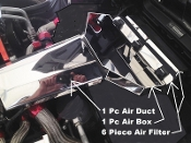 Corvette C4 1994-1996 8 Piece AIR SYSTEM COVER KIT